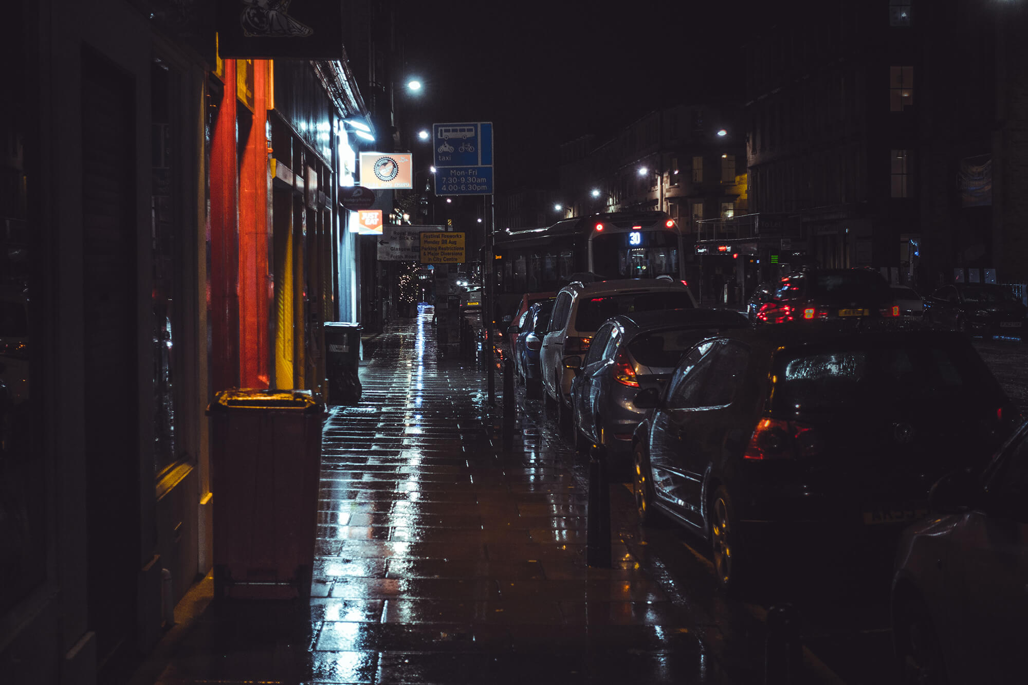 Edimbourg la nuit