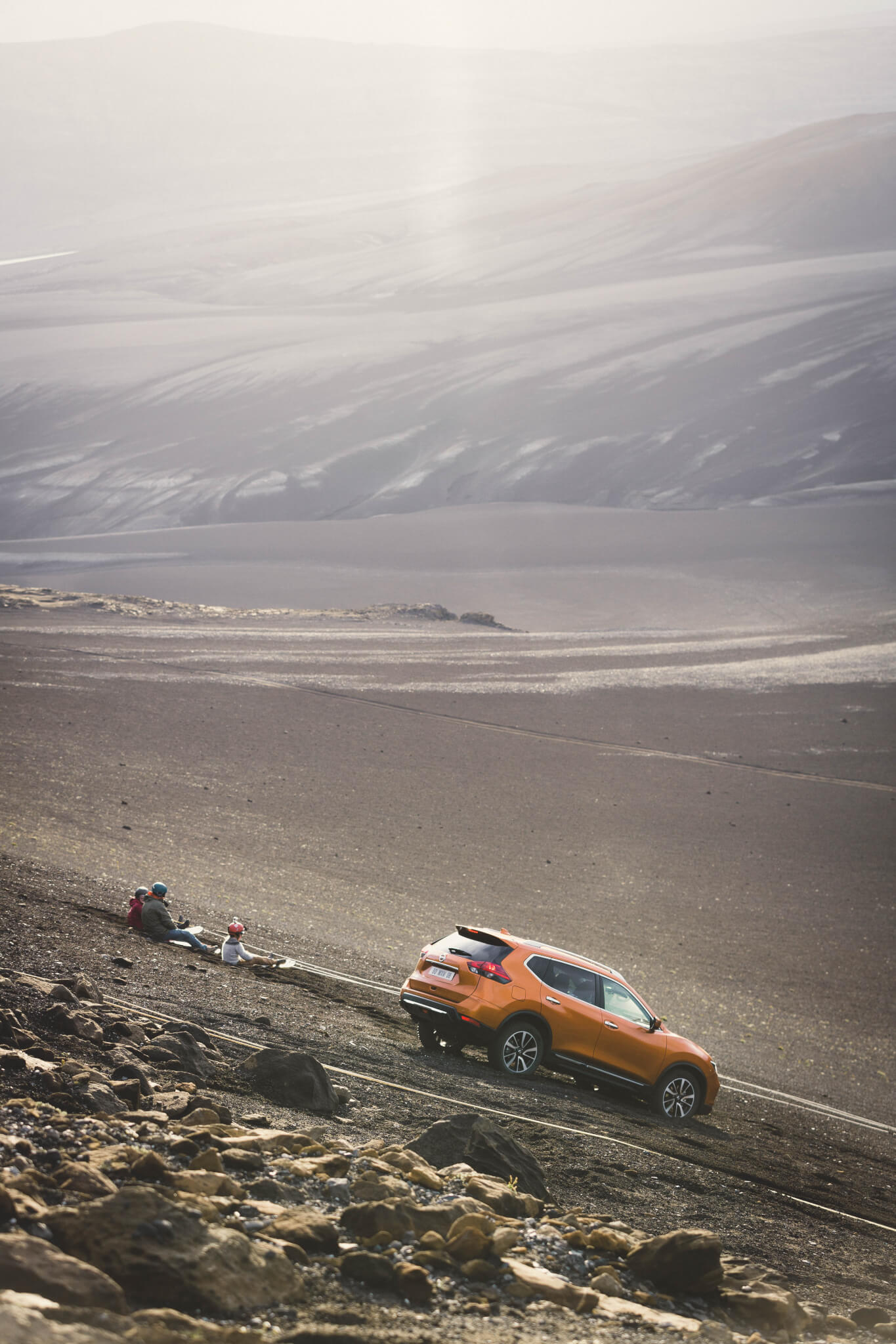 Photo du Tournage Nissan X-Trail en Islande par David Sultan